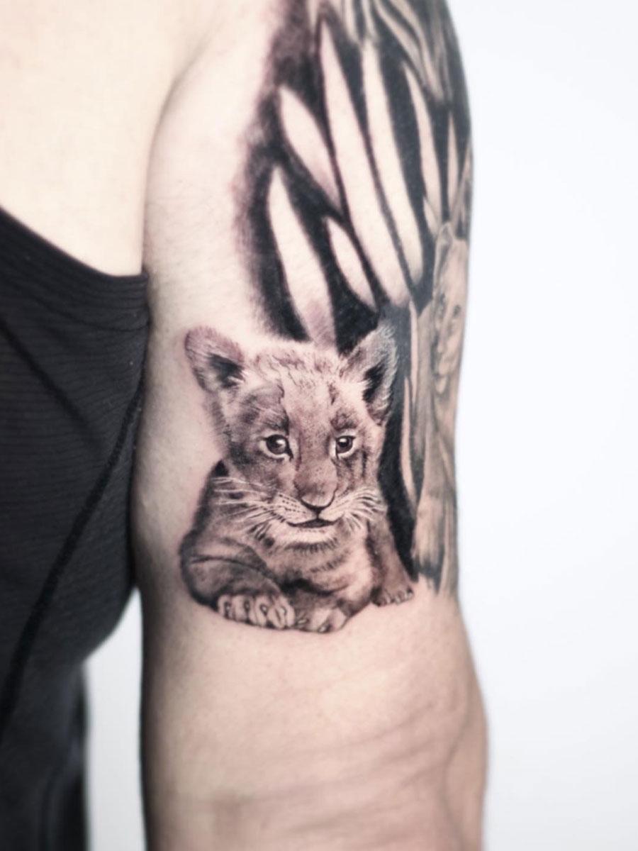 spacejam tattoo color work קעקוע ריקמה ספייס ג'אם גרפיטי עיצוב אישי