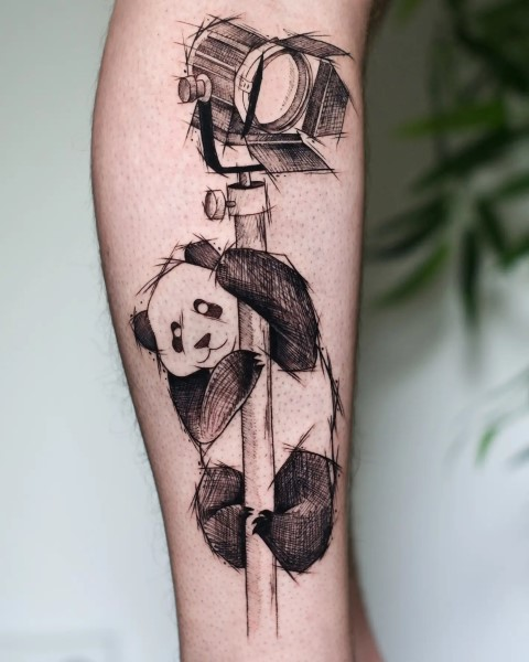 voodoo doll original design tattoo קעקוע בובת וודו בעיצוב אישי